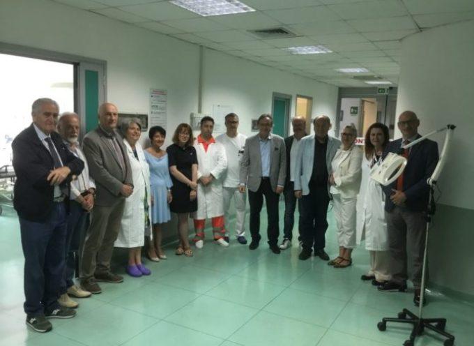 Lions regalano nuovo macchinario al Pronto Soccorso di Castelnuovo