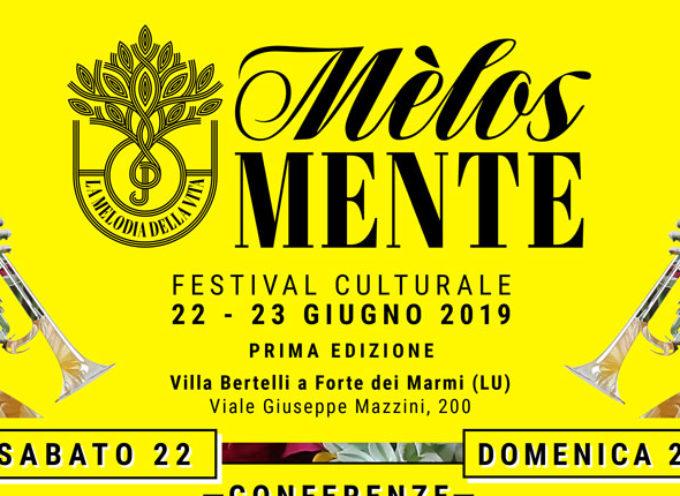 """A Villa Bertelli la prima edizione del Festival  """"Melosmente. La Melodia della Vita"""""""