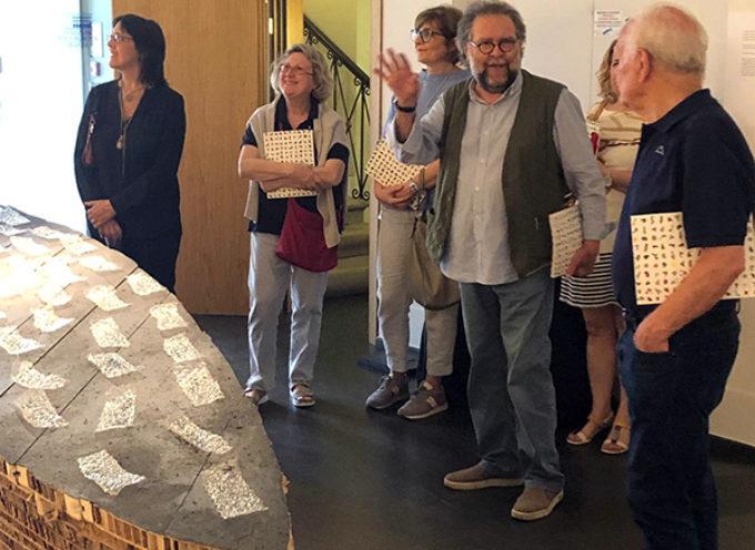 Grande partecipazione per la presentazione del catologo della mostra Volilovi