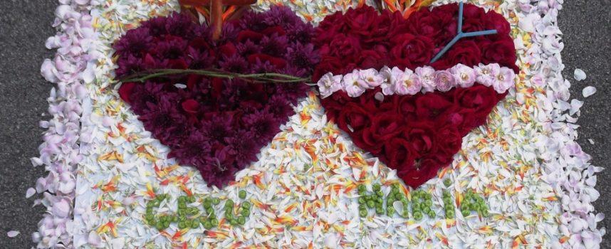 INFIORATA A TURRITECAVA – Sabato 22 giugno la tredicesima edizione dei tappeti floreali per il Corpus Domini