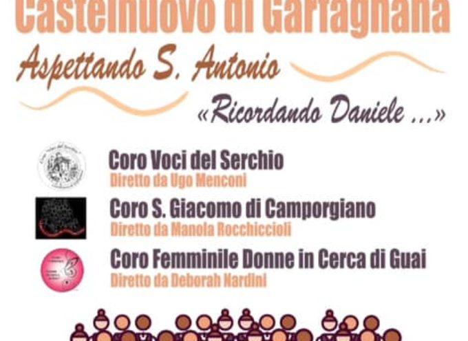 Aspettando S. Antonio – Ricordando Daniele – Chiesa S. Antonio – Castelnuovo di Garfagnana