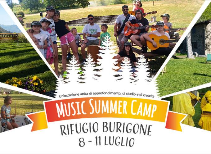 """il campus estivo della Scuola JAM Garfagnana si sposta ai circa 1500 metri del Rifugio """"Burigone"""""""