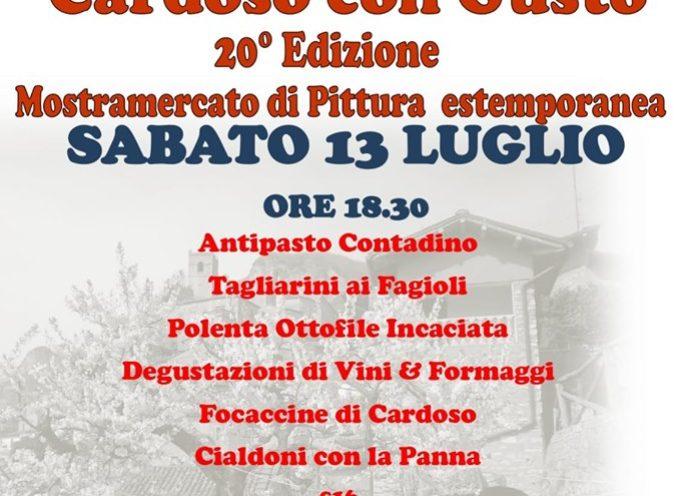 """CARDOSO-GALLICANO: TOUR GASTRONOMICO """"CARDOSO CON GUSTO"""""""