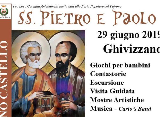 A Ghivizzano si festeggiano i Santi Pietro e Paolo: torna una festa storica ma non dimenticata