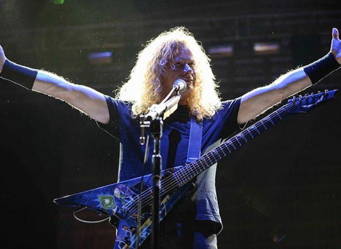 Dave Mustaine ha un cancro alla gola: i metal fans si stringono attorno ai Megadeth