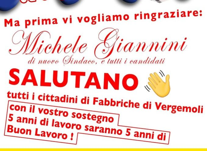 Festa al ristorante Il Rondone per Giannini e la sua Lista