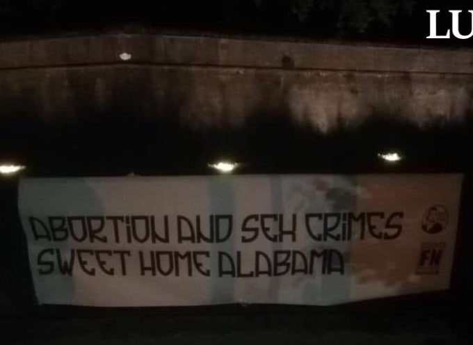 "Forza Nuova Lucca: ""Sweet Home Alabama """