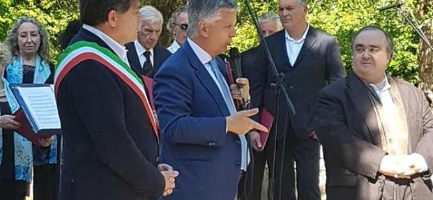 CASA CARDUCCI È UFFICIALMENTE CASA DELLA MEMORIA, GRANDE PARTECIPAZIONE A VALDICASTELLO