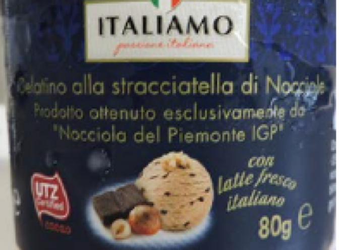 Lidl richiama gelatino alla stracciatella di nocciole Italiamo: FRUTTA A GUSCIO (allergene) non dichiarata in etichetta. Rischio per Allergici!