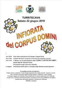 Infiorata del Corpus Domini a Turritecava