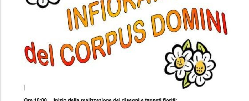 Infiorata del Corpus Domini – A Turritecava – Gallicano