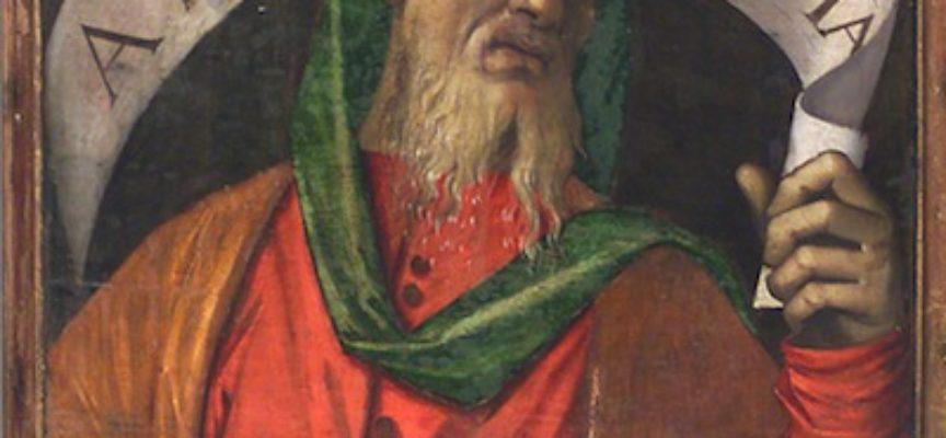 Il Santo del giorno, 15 Giugno: il Profeta Amos