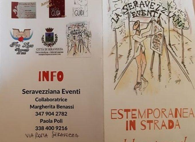 La Seravezziana Eventi – Estemporanea in strada dal 15 giugno al 31 agosto 2019 –