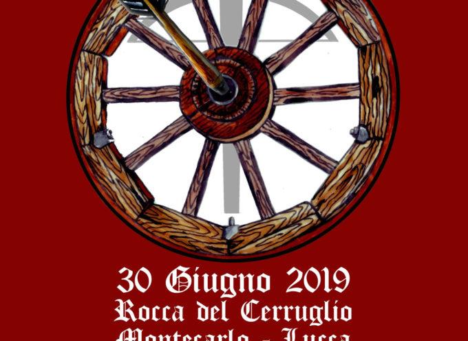 i balestrieri dell'associazione Contrade San Paolino che per la prima volta disputeranno un Palio in una location di grande fascino: la Fortezza di Montecarlo.