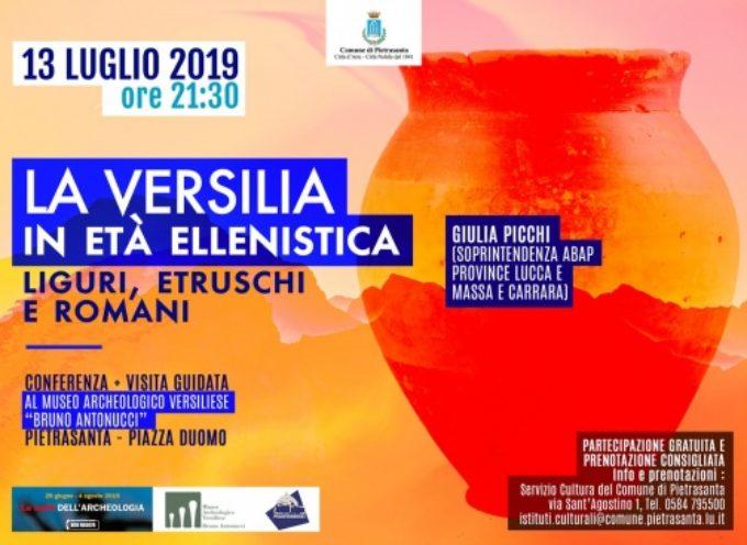 """""""Le notti dell'Archeologia"""" tra Liguri, Etruschi e Romani, nuovo appuntamento a Palazzo Moroni"""