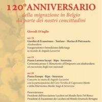 Lucchesi nel Mondo: 120 anni fa le prime migrazioni in Belgio, tante iniziative tra Pietrasanta e Seravezza
