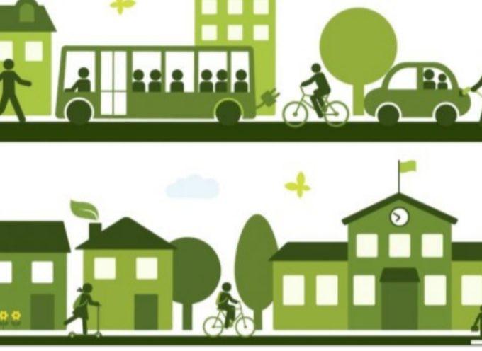 PIANO PER LA MOBILITA' SOSTENIBILE: Gli obiettivi sono la riduzione del traffico pesante, quello delle auto,  favorendo l'uso della bici e il trasporto merci su rotaia