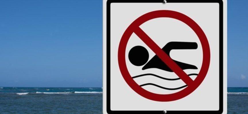 Marina di Massa, bagno vietato in questi  41 stabilimenti balneari,