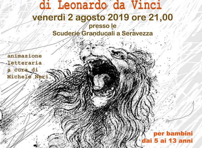 SERAVEZZA – Biblioteca: le più belle favole e leggende di Leonardo da Vinci, una serata a teatro per gli under 13