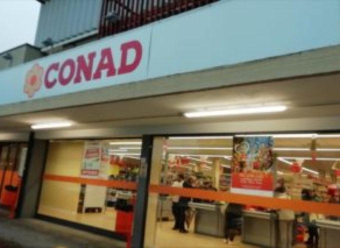 Rapina al supermercato Conad di San Leonardo in Treponzio