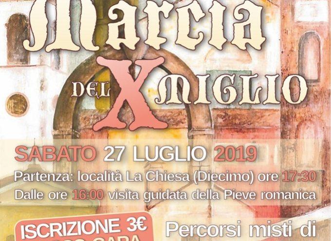 Marcia del X° Miglio a Diecimo; Borgo a Mozzano