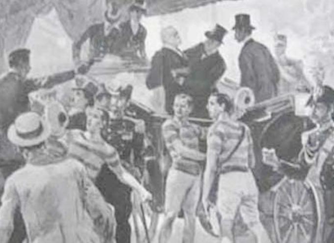 il 29 luglio 1900. Re Umberto I viene assassinato a Monza da Gaetano Bresci,