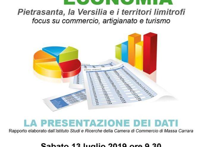 """la Versilia del commercio e del turismo, a Pietrasanta la prima edizione """"Rapporto Economia"""""""