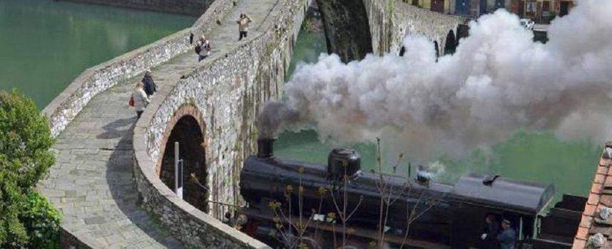 Il Ponte e la macchina a vapore; Borgo a Mozzano