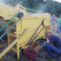 ieri a Cascio… La Macchinatura del nostro grano!!!