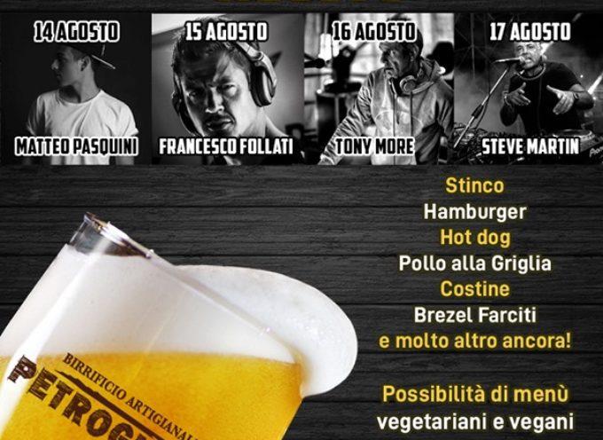 la Festa della Birra Petrognola 2019 a piazza al serchio