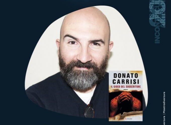 Al Verzura grande attesa per la serata con Donato Carrisi;