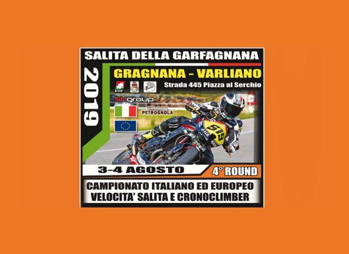 CAMPIONATO ITALIANO E EUROPEO DI VELOCITA CON MOTO MODERNE ED EPOCA –  GRAGNANA – VARLIANO