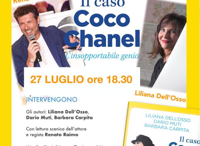 """""""Il caso Coco Chanel. L'insopportabile genio"""" Piazza Garibaldi Forte dei Marmi, a cura di Villa Bertelli"""