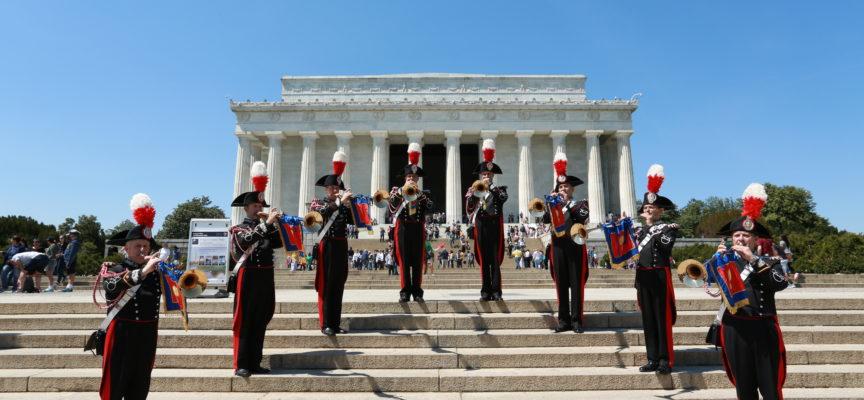 La Banda dell'Arma dei Carabinieri in concerto a Villa Bertelli