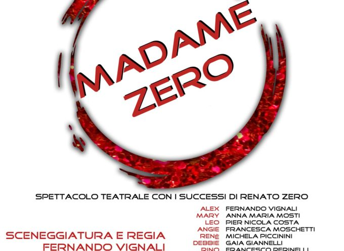 """AIDO presenta lo spettacolo """"Madame Zero"""" il 26 luglio  nella Pineta Emilio Tarabella di Forte dei Marmi"""