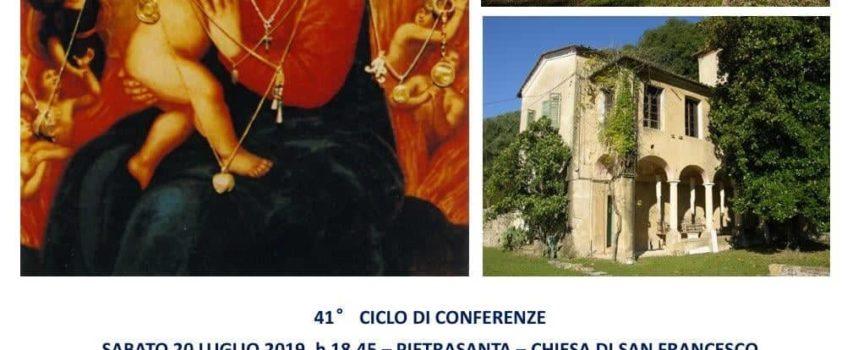 Pietrasanta – Istituto Storico Lucchese Sezione Versilia Storica – Sabato 20 luglio, Chiesa di San Francesco