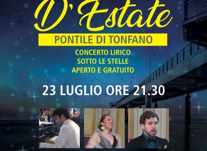 Pontile di Tonfano – Notte di Note, concerto lirico sotto le stelle
