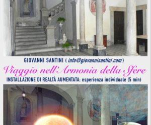 Palazzo Santini ospita Cibart 2019 – L'esperienza individuale di Realtà Aumentata