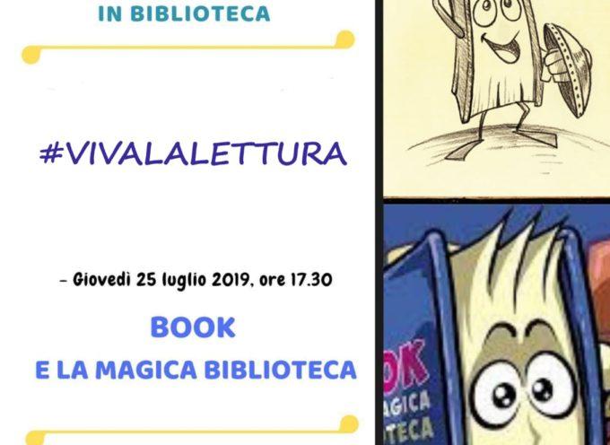 Seravezza – In biblioteca arriva Book, simpatico libro animato