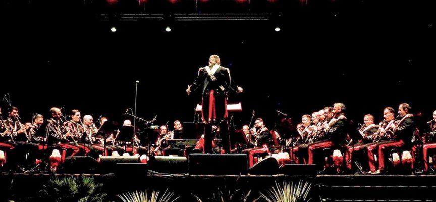 Trionfo della Banda Dell'Arma dei Carabinieri Tutto esaurito al concerto
