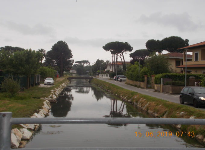 Puliti i corsi d'acqua a Montignoso, nel rispetto dell'ambiente