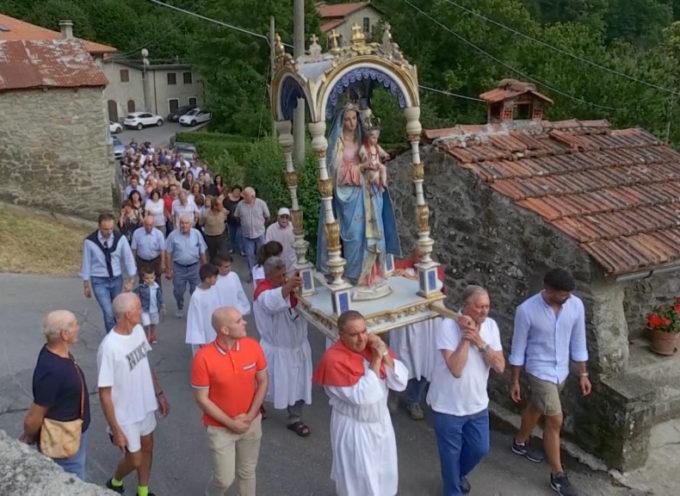 Riaperta al culto la chiesa a Capanne di Sillano chiusa dal sisma del 2013