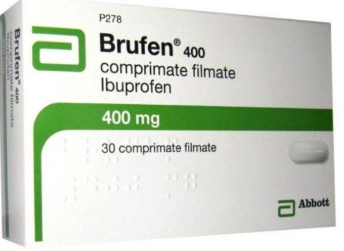 BRUFEN – ritirato dal mercato causa errori di stampa presenti nel foglietto illustrativo.