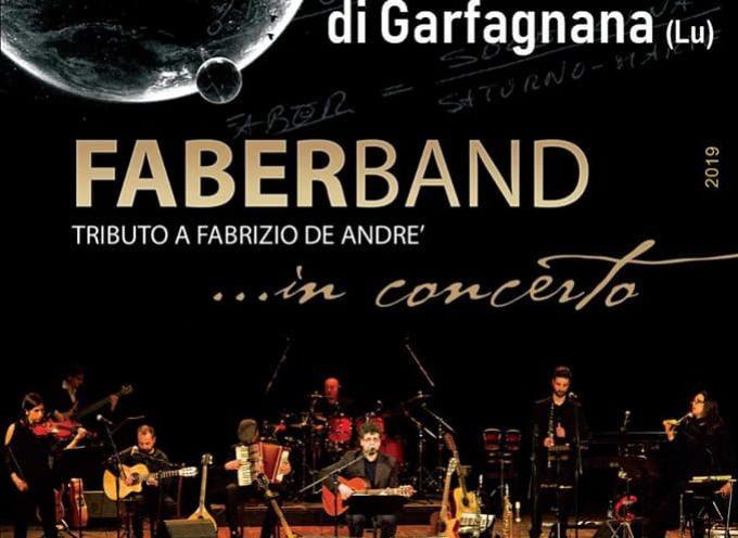 CASTIGLIONE: concerto della FABERBAND tributo De Andrè
