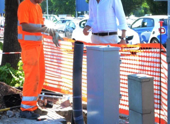 Mobilità sostenibile: al parcheggio delle Tagliate si installa la prima colonnina di ricarica per veicoli elettrici