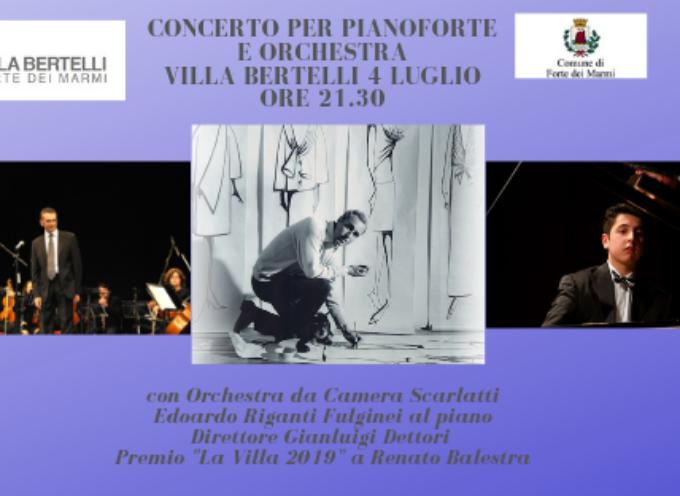 """VILLA BERTELLI – L'altra Villa"""" presenta: """"Concerto per orchestra e pianoforte"""""""