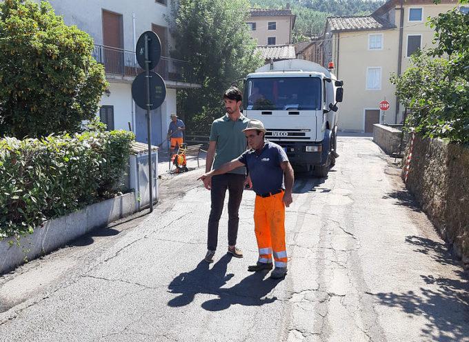 CAPANNORI – Al via nuove asfaltature nel territorio
