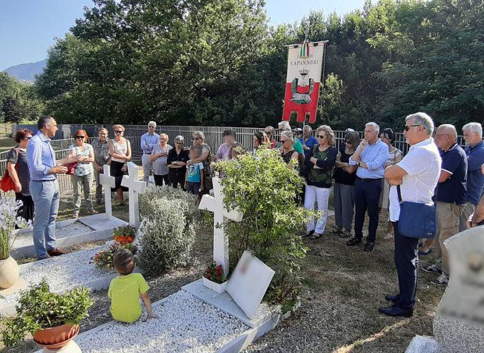 CAPANNORI – Commemorata Luciana Baroni a 10 anni dalla scomparsa