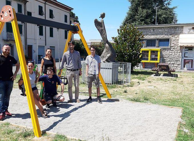 Un nuovo parco giochi a Marlia grazie al Comune e all'associazione Jacopo ci sei