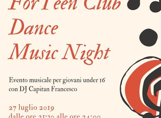 Una serata per giovani under 16 a Gallicano